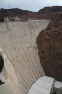 Hoover Dam (ganze Höhe)
